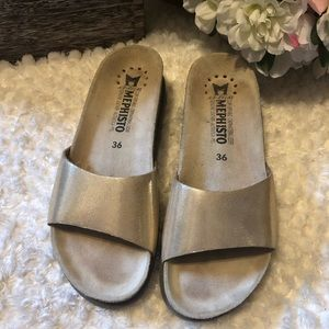 MEPHISTO Women's gold Air Relax